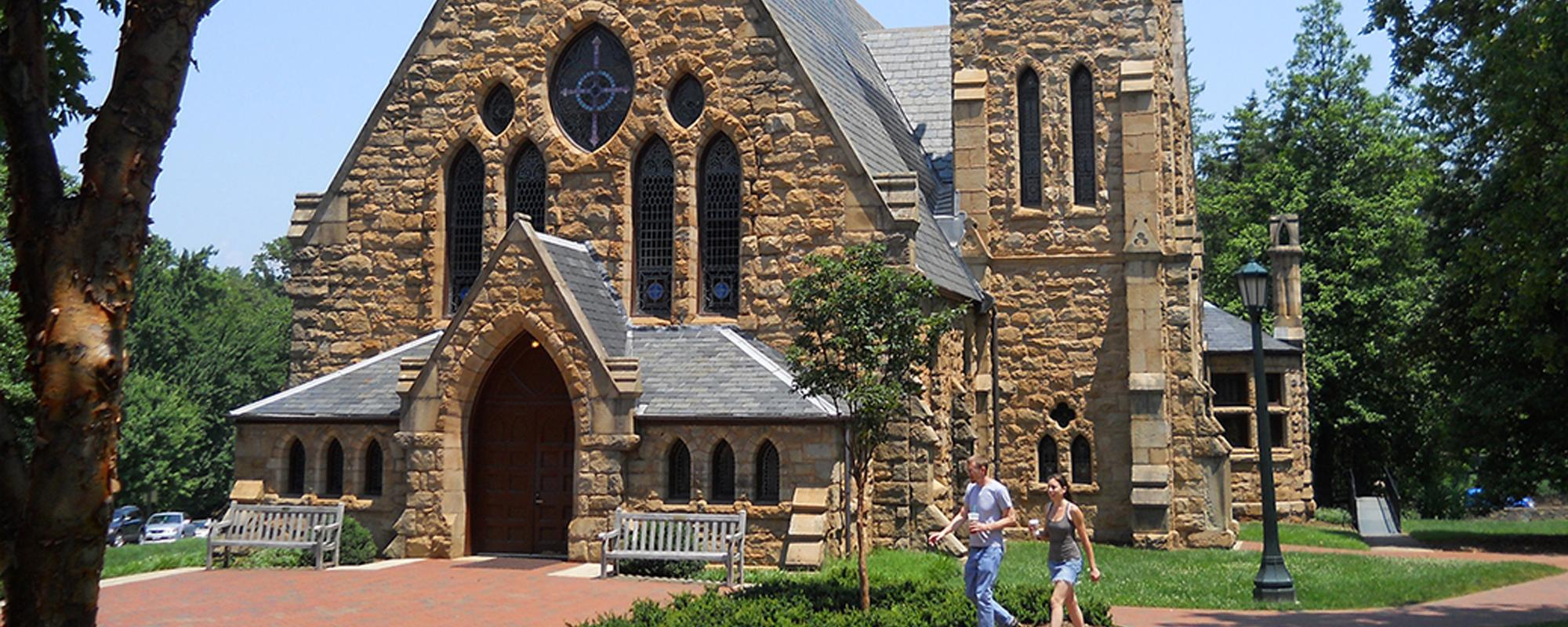 Front of the UVA Chapel